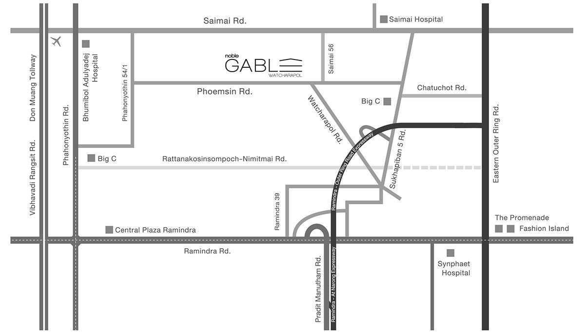 Noble Gable map