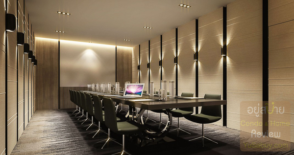 Meeting room คอนโด The Politan Rive