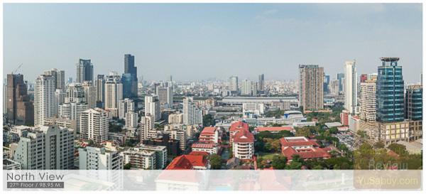 Noble BE19 Sukhumvit 19_Floor 27_North view
