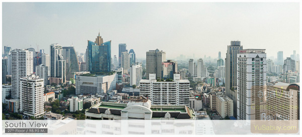 Noble BE19 Sukhumvit 19_Floor 27_South view