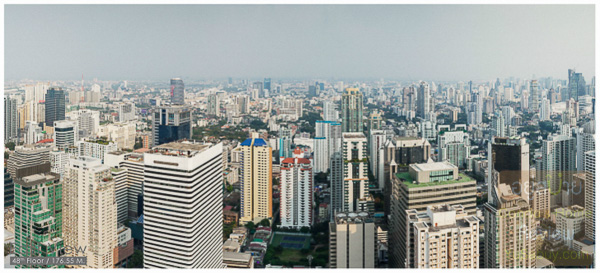 Noble BE19 Sukhumvit 19_Floor 48_East view