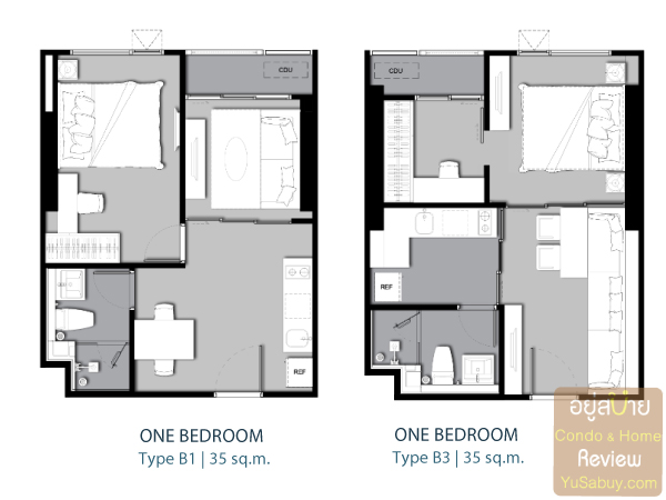 Life-Ladprao-Type-B1-One-Bedroom