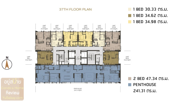 Wish-Signature-II-Midtown-Siam-Floor-Plan-37