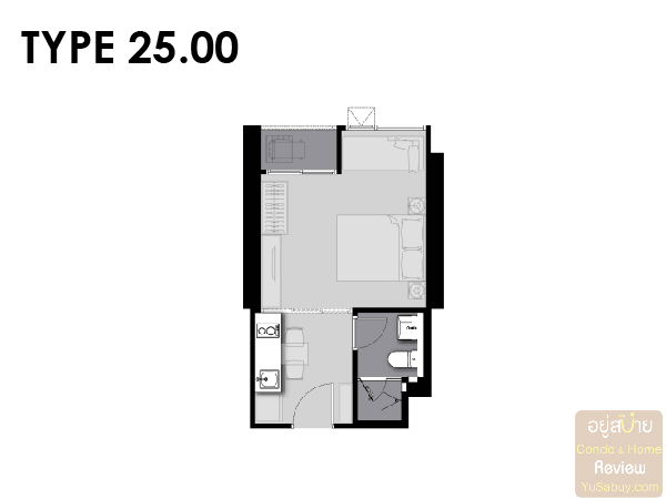 Life Asoke Rama 9 Room Plan-04