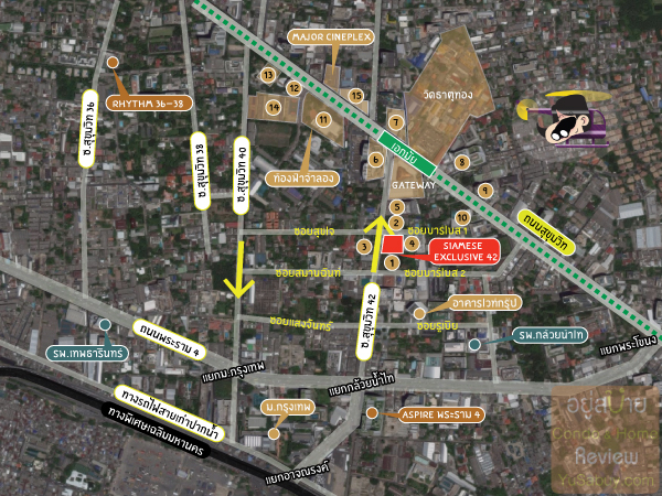 Siamese-Exclusive-Sukhumvit-42-Map-2