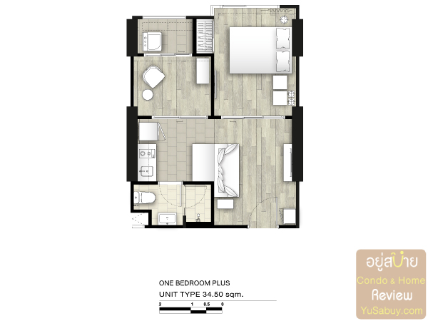 34.50-sqm-1BEDROOM-PLUS-DeLapis-Charan81