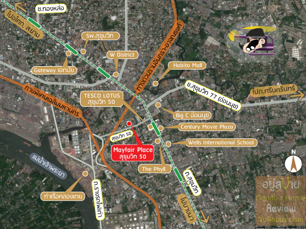 Mayfair-Sukhumvit-50-Map
