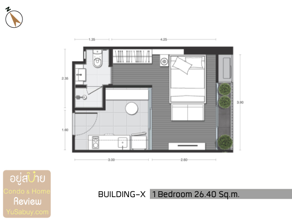 Noble-Around-Ari-X-Unit-Plan-1BR