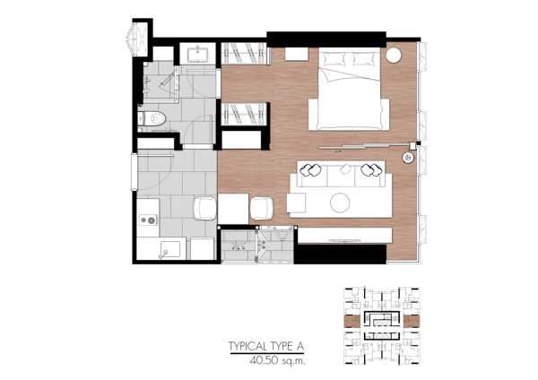 One9Five-Room-Plan