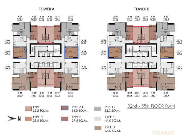 one9five-Floor-plan-32-55th