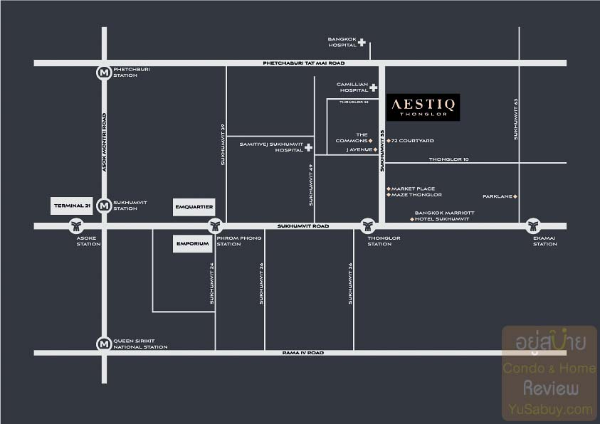 Aestiq-Thonglor-Map-ภาพที่-1