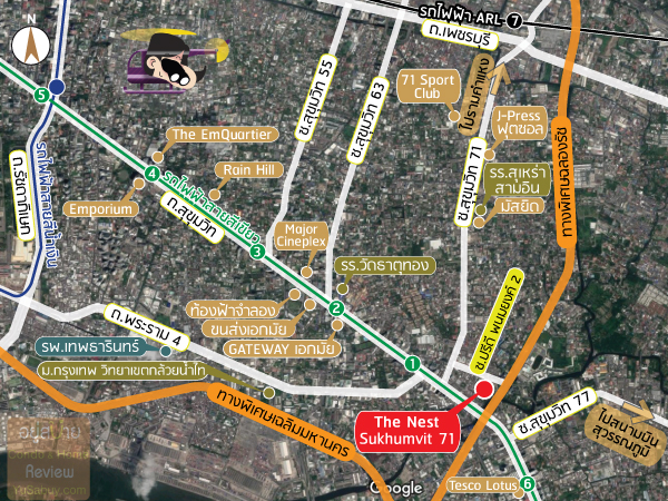 map-The-Nest-Sukhumvit-71