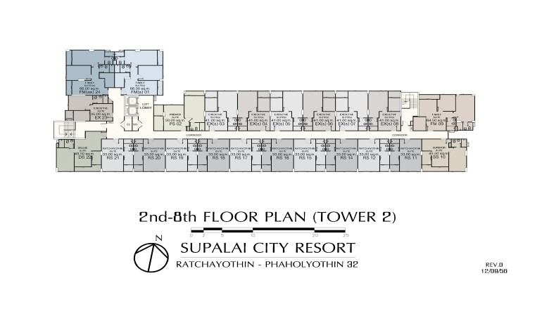 2nd-8th_floor Supalai City Resort Ratchayothin-Phaholyothin 32