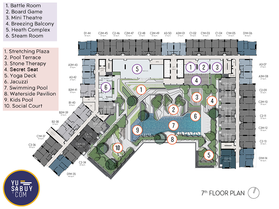 Floor-Plan-Aspire-Erawan-Prime-ชั้น-7