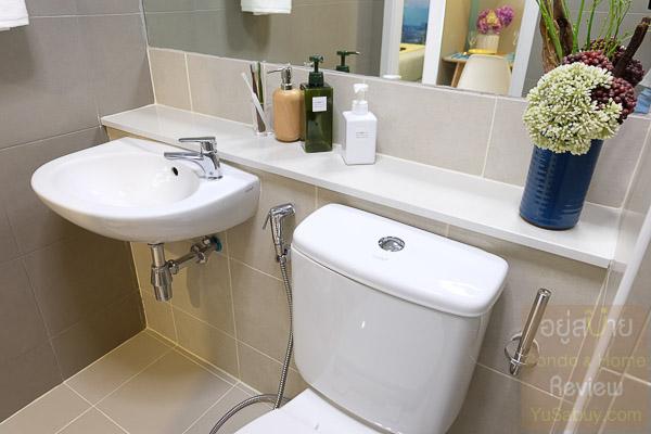 Plum Condo Ramkanhaeng ห้องน้ำ - ภาพที่ 7