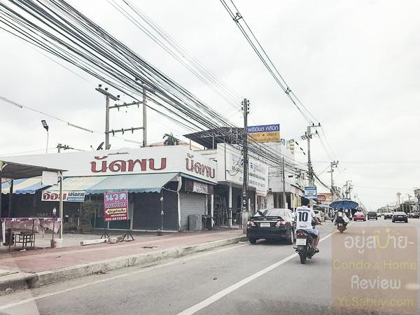 Unio ลำลูกกา-คลอง 4 สภาพแวดล้อมถนนคลองหลวง 4 (ภาพที่ -7)