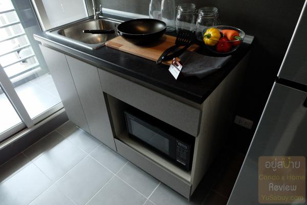 ห้องครัว Niche id @ Pakkret Station (นิช ไอดี ปากเกร็ด สเตชั่น)