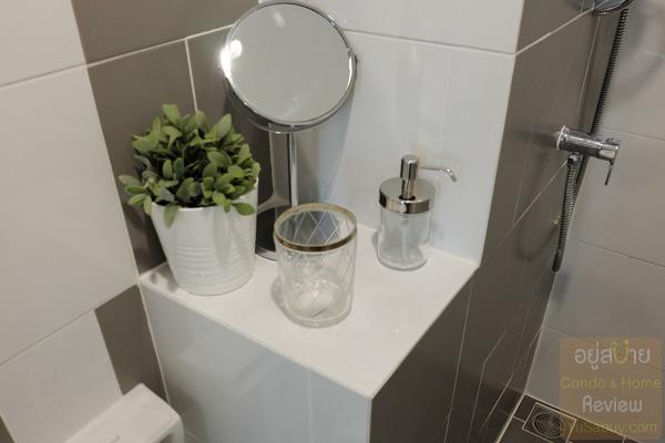ห้องน้ำ Niche id @ Pakkret Station (นิช ไอดี ปากเกร็ด สเตชั่น)