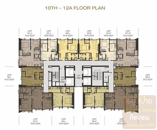 Wish Signature 2 Midtown Siam-ชั้น 10-12a