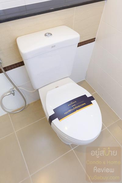 Passorn Prestige ปิ่นเกล้า-เพชรเกษม ห้องน้ำ (ภาพที่ 4)