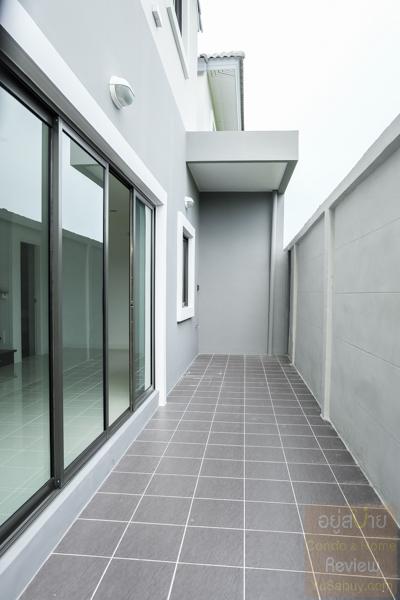 บ้านสวนซีนเนอรี บางนา-สุวรรณภูมิ อาคารจริงบ้านแฝด (ภาพที่-7)