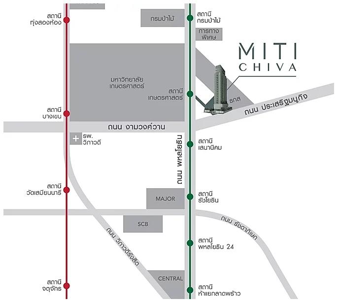 แผนที่ Miti Chiva Kaset Station (ภาพที่ 12)