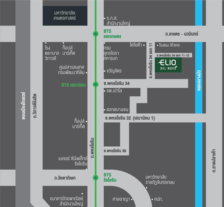 แผนที่ Elio Del Moss Phahonyothin 34 (ภาพที่1)