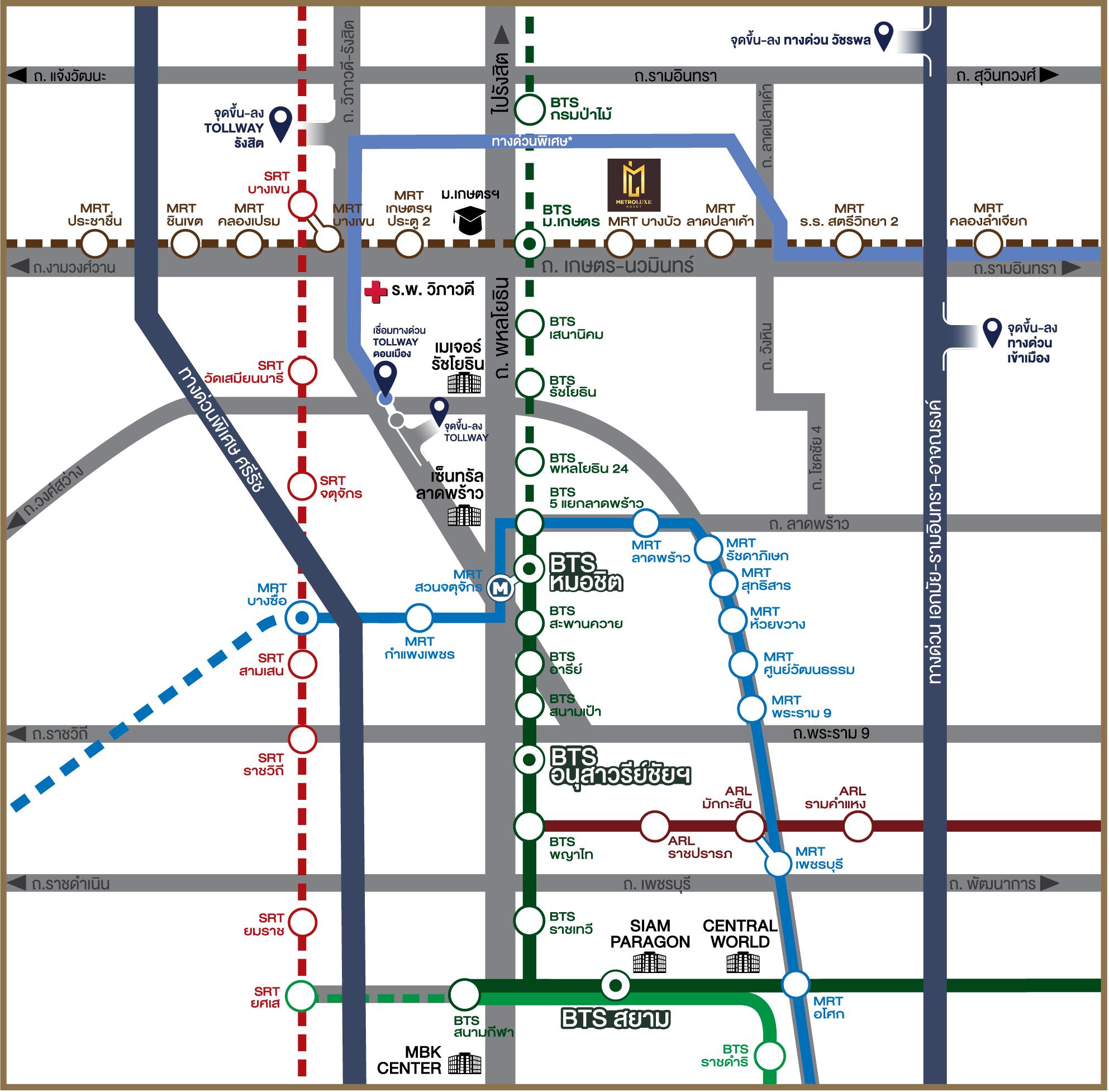 Metro Luxe เกษตร