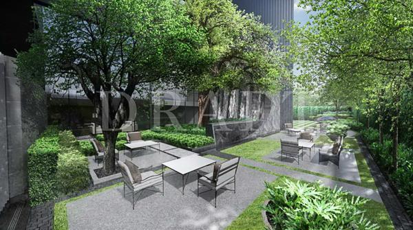 เดอะ เครสท์ พาร์ค เรสซิเดนเซส พื้นที่สีเขียวในโครงการ