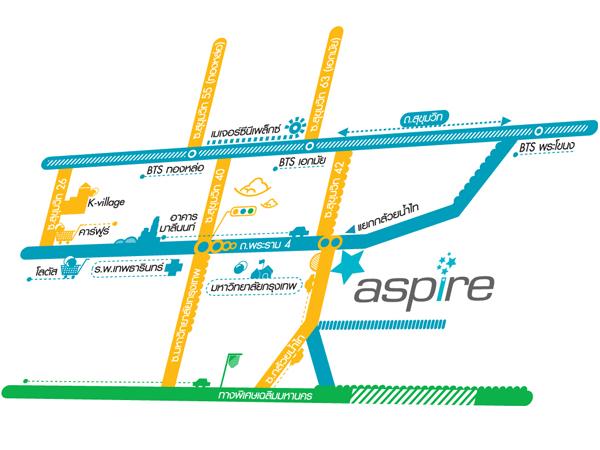 แผนที่-คอนโด-แอสปาย-พระราม-4-Aspire-RAMA-4