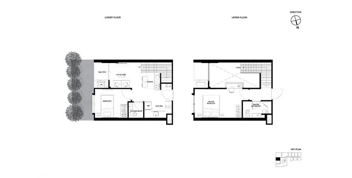 Duplex 2 bedroom Maestro 12 Ratchathewi