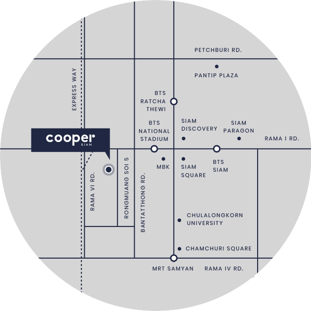 Map Cooper Siam