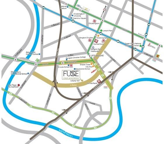 Map Fuse Chan-Sathorn