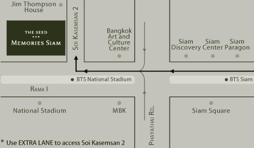 Map The Seed Memories Siam