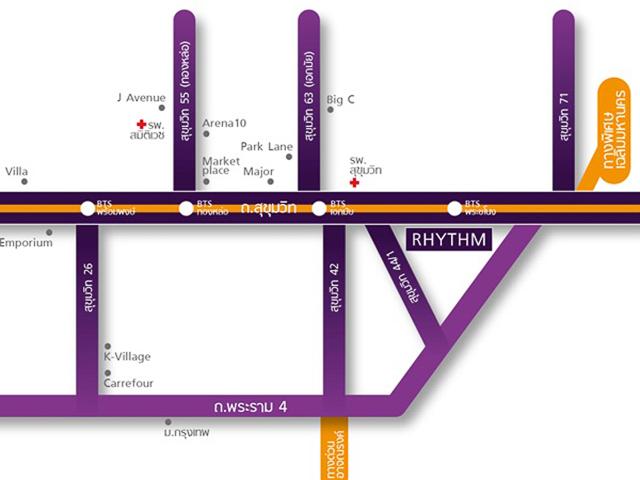 Rhythm sukhumvit 44-1 (ภาพที่1)