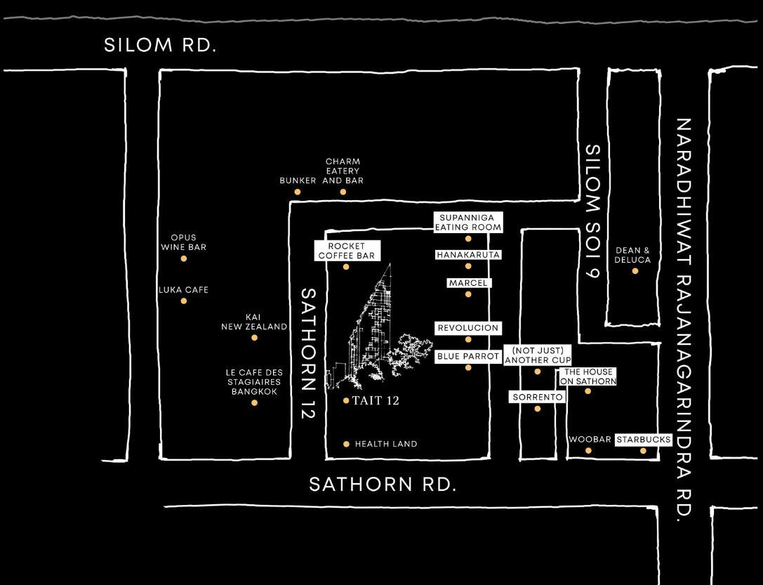 Tait 12 -map | รีวิวคอนโด รีวิวบ้านเดี่ยว รีวิวทาวน์เฮ้าส์ รีวิวทาวน์โฮม  โดย YUSABUY.COM