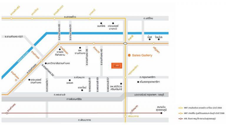 Map-จากโครงการ-ดีคอนโดรามคำแหง40