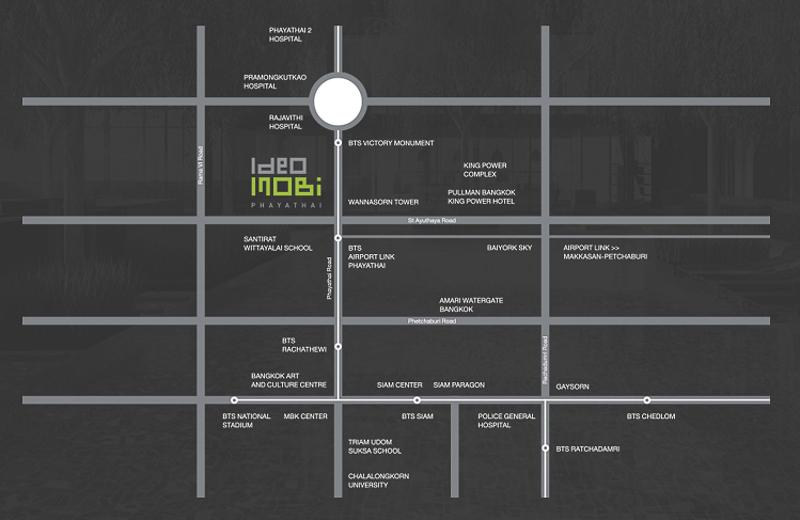 Map Ideo Mobi Phayathai