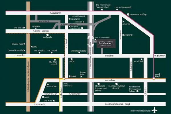 Bangkok Boulevard Ramintra-Serithai 2 (บางกอก บูเลอวาร์ด รามอินทรา-เสรีไทย 2)