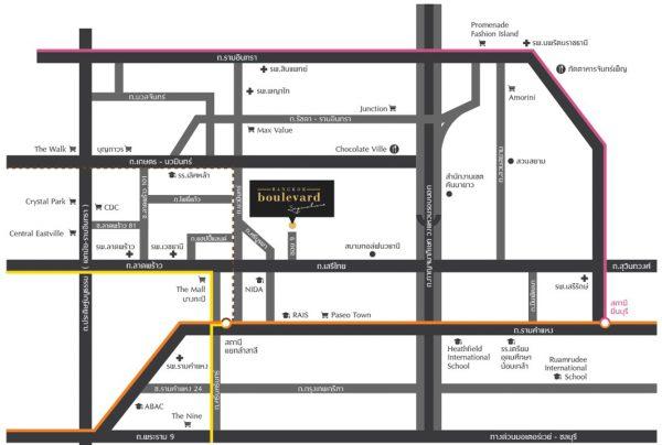 Bangkok Boulevard Signature Ladprao-Serithai (บางกอก บูเลอวาร์ด ซิกเนเจอร์ ลาดพร้าว-เสรีไทย)