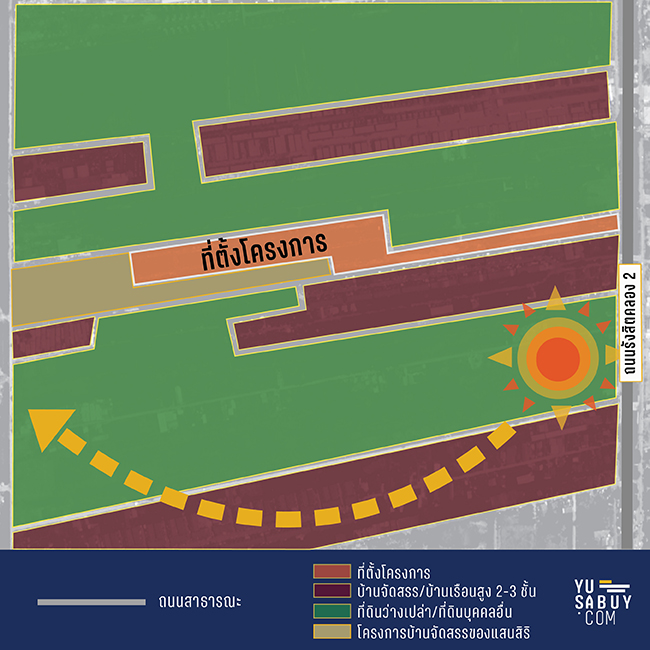 อณาสิริ รังสิต คลอง 2 map