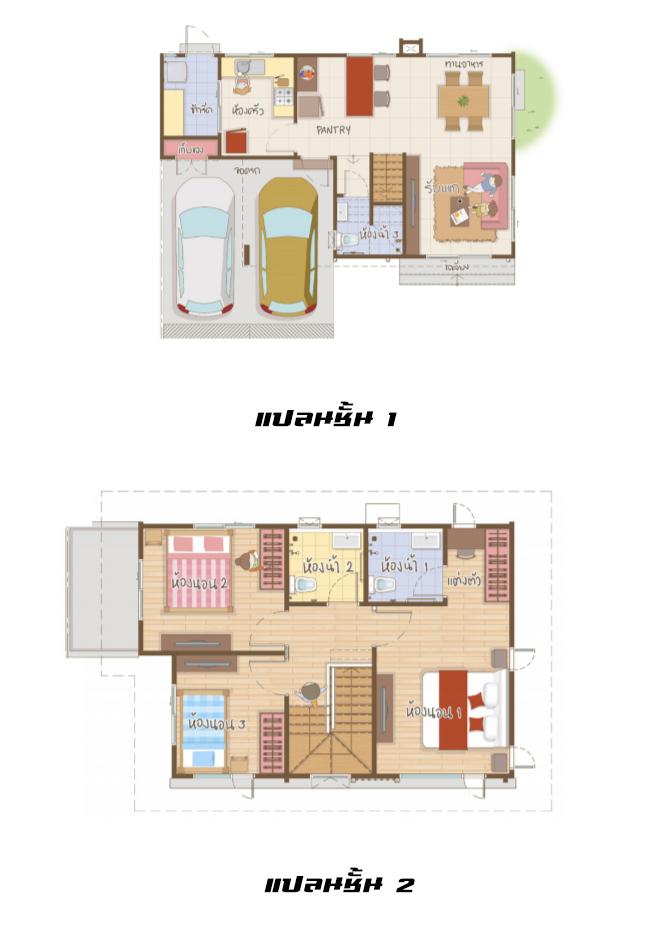 Anasiri รังสิต-คลอง2 plan fuyu