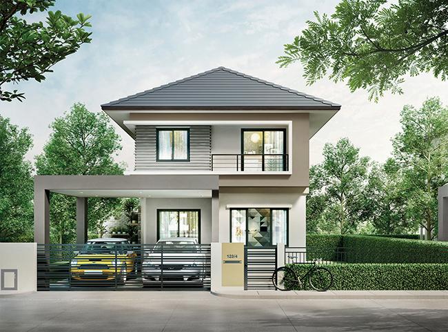 Areeya Como วงแหวนฯ-รามอินทรา แบบบ้าน