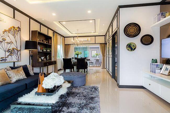 บ้านตัวอย่าง The Connect วงแหวน-พระราม 9