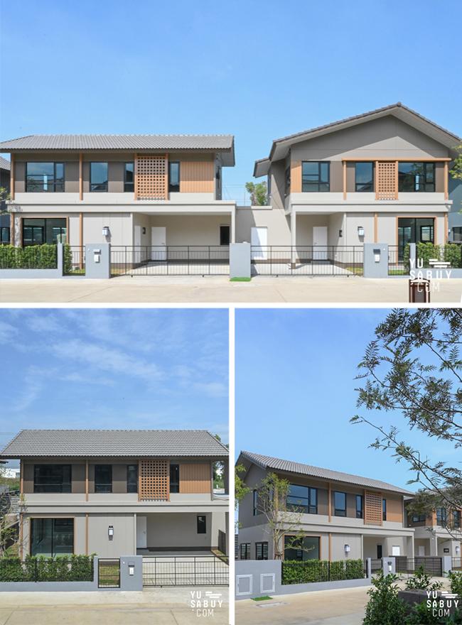 อณาสิริ รังสิต คลอง 2 บ้านแฝด