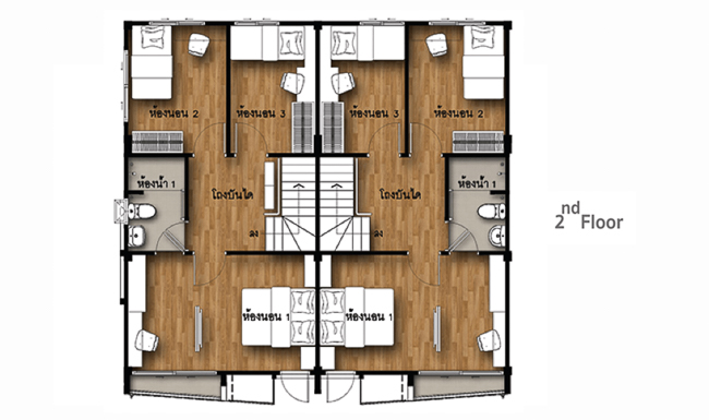 แปลนบ้าน ศุภาลัย พรีโม่ เพชรเกษม 110