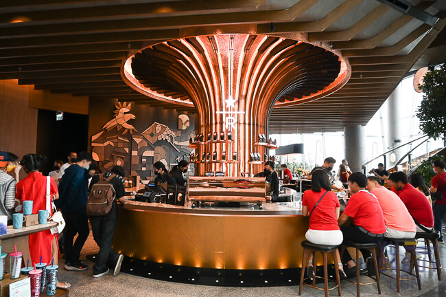 Reserve Bar Starbucks Iconsiam