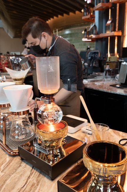 Starbucks กาแฟ Siphon
