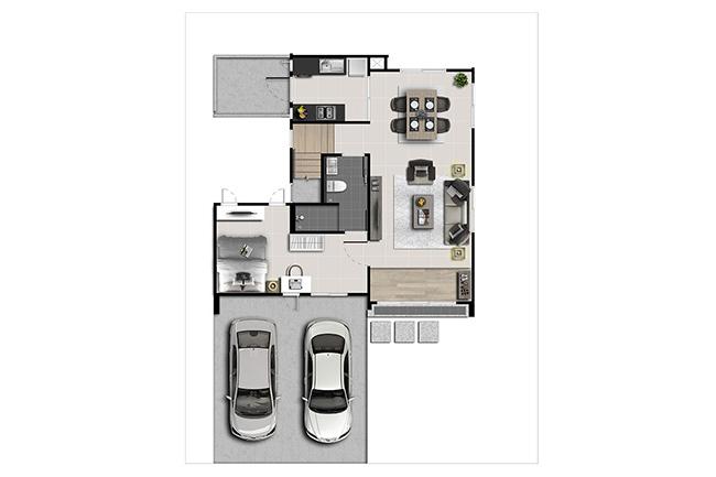 แบบบ้าน kanasiri-ratchapruek 346