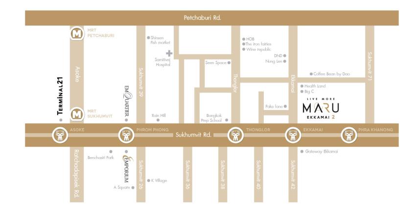 แผนที่ MARU EKKAMAI 2